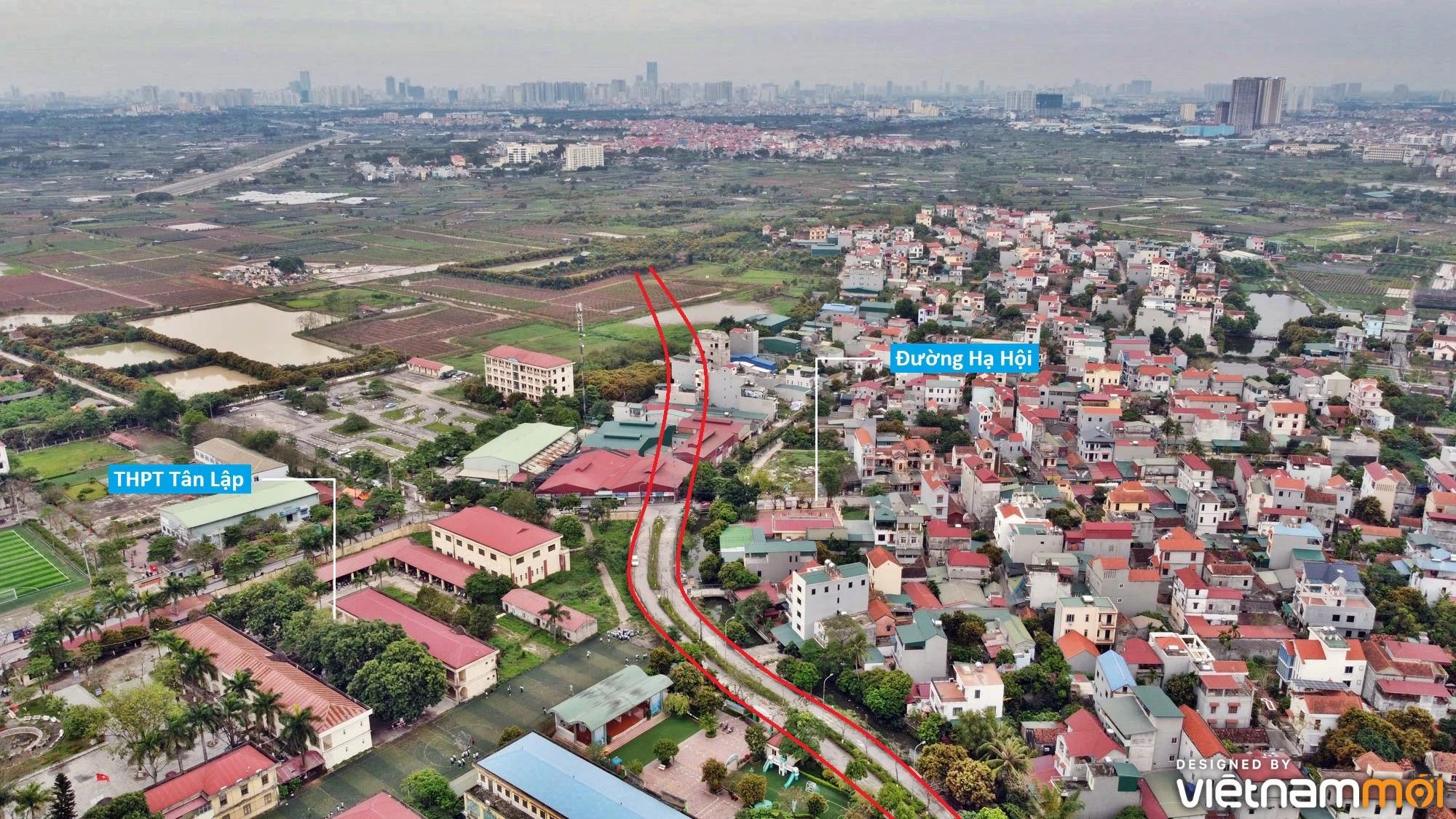Đường sẽ mở theo quy hoạch ở xã Tân Lập, Đan Phượng, Hà Nội (phần 3) - Ảnh 8.