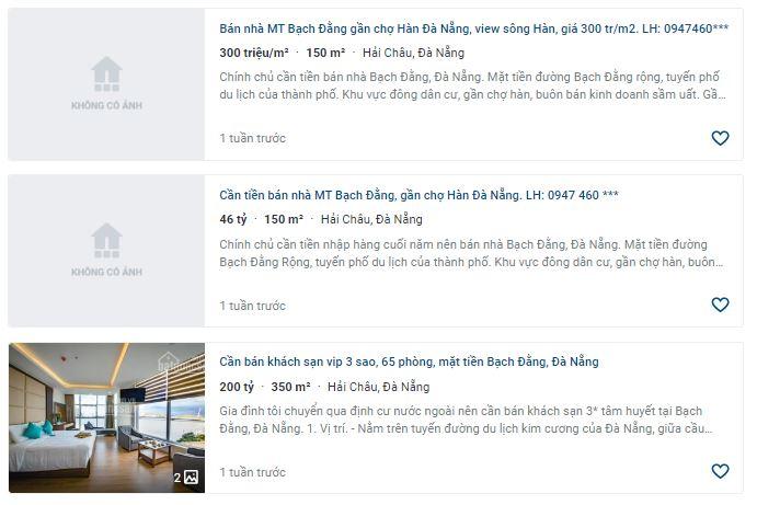 Giá đất đường Bạch Đằng, Hải Châu, Đà Nẵng - Ảnh 5.