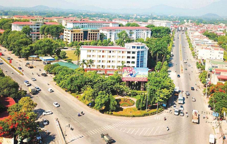 Bản đồ quy hoạch Đô thị vệ tinh Sơn Tây, Hà Nội - Ảnh 1.