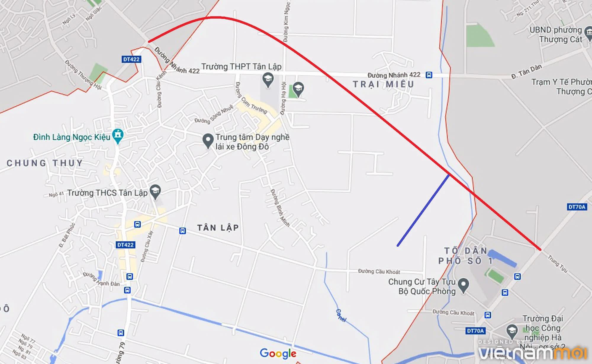 Đường sẽ mở theo quy hoạch ở xã Tân Lập, Đan Phượng, Hà Nội (phần 3) - Ảnh 10.