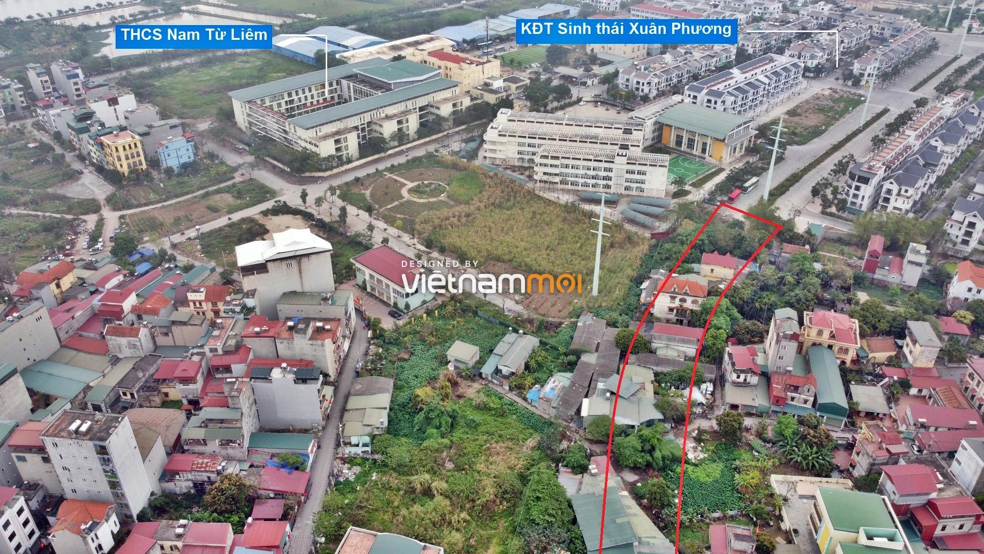 Những khu đất sắp thu hồi để mở đường ở phường Xuân Phương, Nam Từ Liêm, Hà Nội (phần 1) - Ảnh 4.