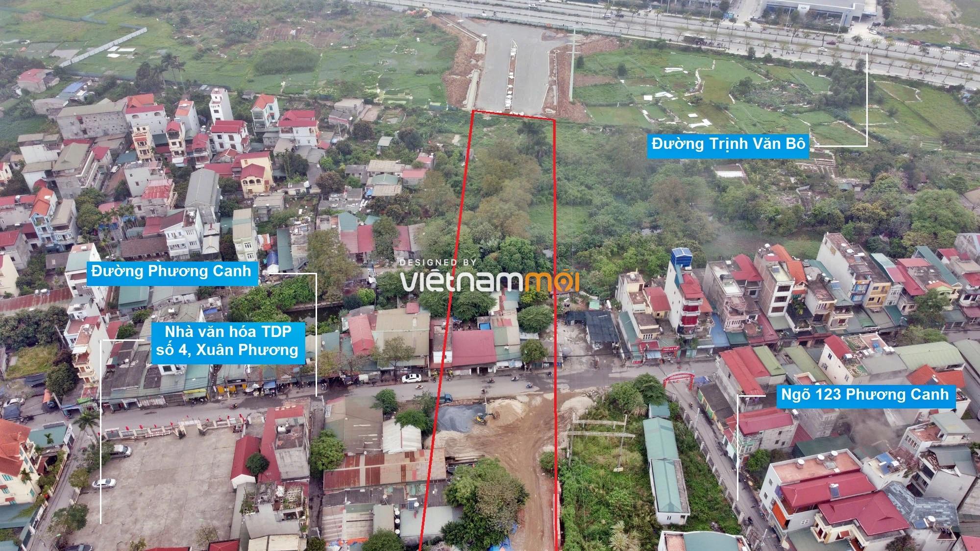 Những khu đất sắp thu hồi để mở đường ở phường Xuân Phương, Nam Từ Liêm, Hà Nội (phần 1) - Ảnh 5.