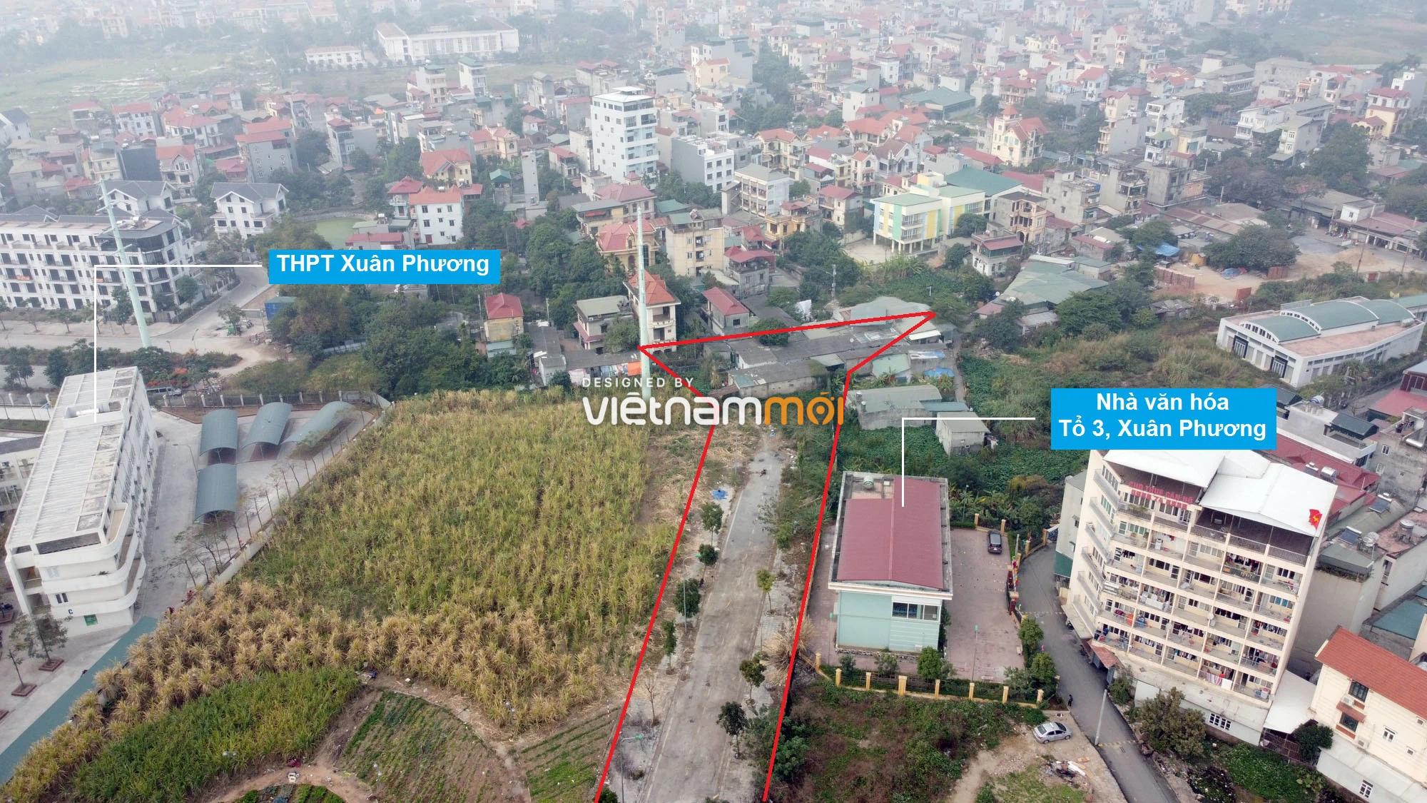 Những khu đất sắp thu hồi để mở đường ở phường Xuân Phương, Nam Từ Liêm, Hà Nội (phần 1) - Ảnh 10.
