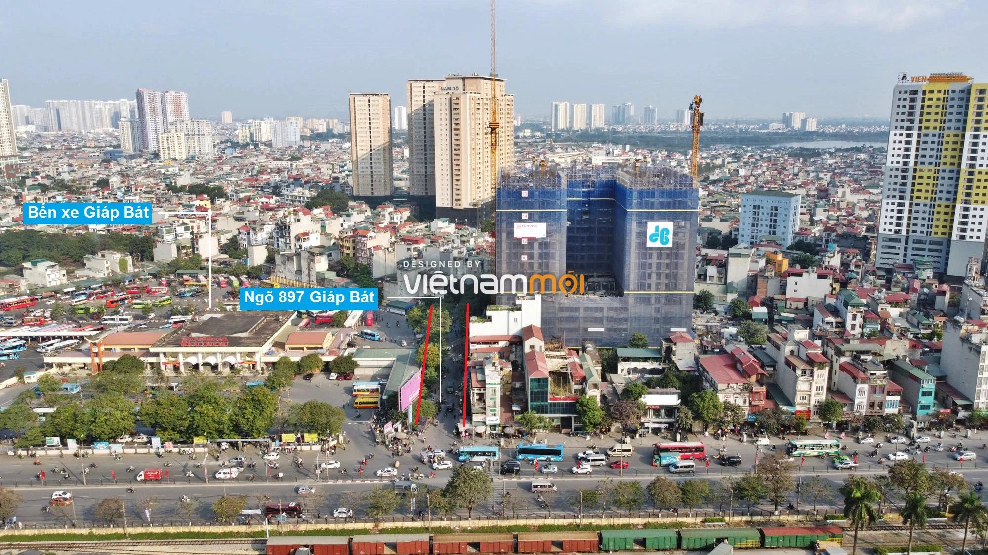 Đường sẽ mở theo quy hoạch ở phường Giáp Bát, Hoàng Mai, Hà Nội (phần 2) - Ảnh 3.