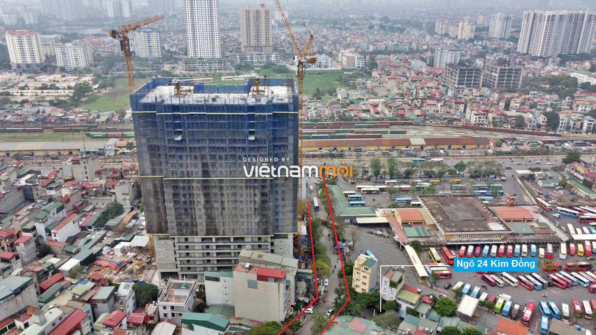Đường sẽ mở theo quy hoạch ở phường Giáp Bát, Hoàng Mai, Hà Nội (phần 2) - Ảnh 4.
