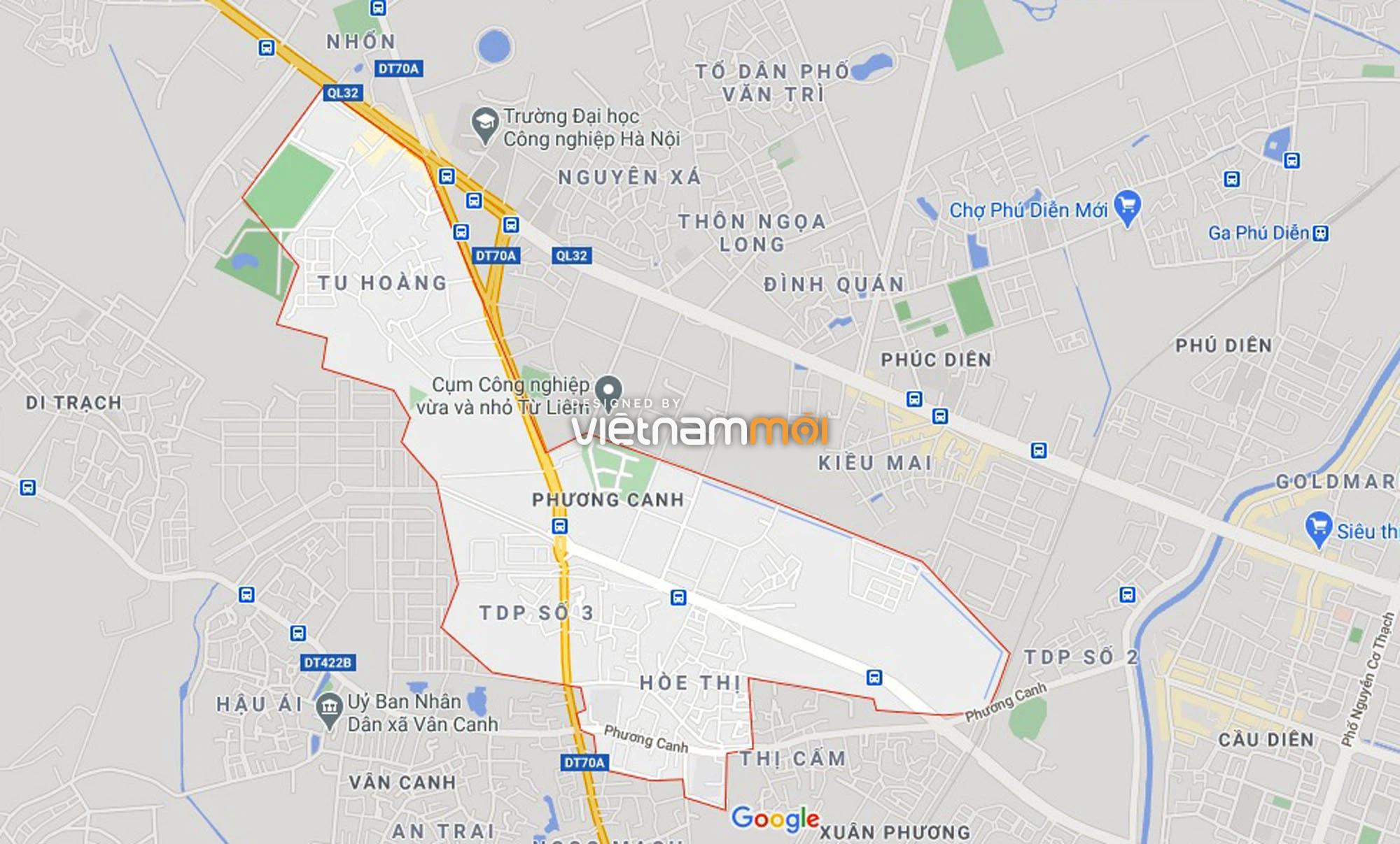 Đường sẽ mở theo quy hoạch ở phường Phương Canh, Nam Từ Liêm, Hà Nội (phần 2) - Ảnh 1.