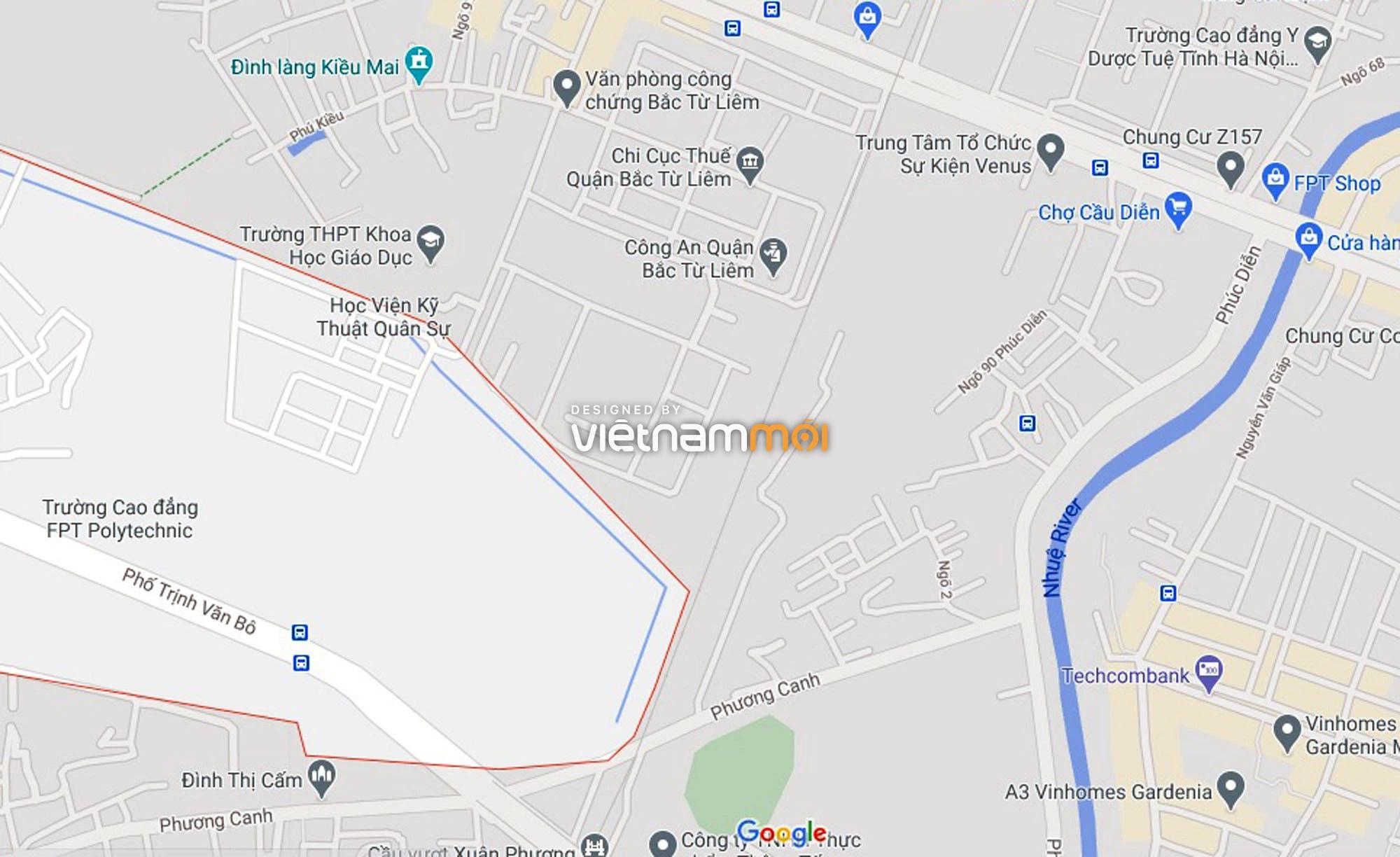 Đường sẽ mở theo quy hoạch ở phường Phương Canh, Nam Từ Liêm, Hà Nội (phần 2) - Ảnh 6.