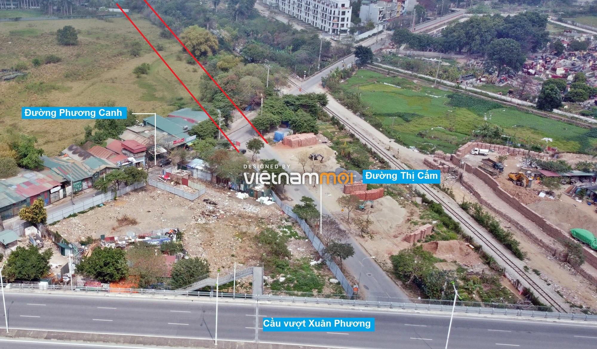 Đường sẽ mở theo quy hoạch ở phường Phương Canh, Nam Từ Liêm, Hà Nội (phần 2) - Ảnh 7.