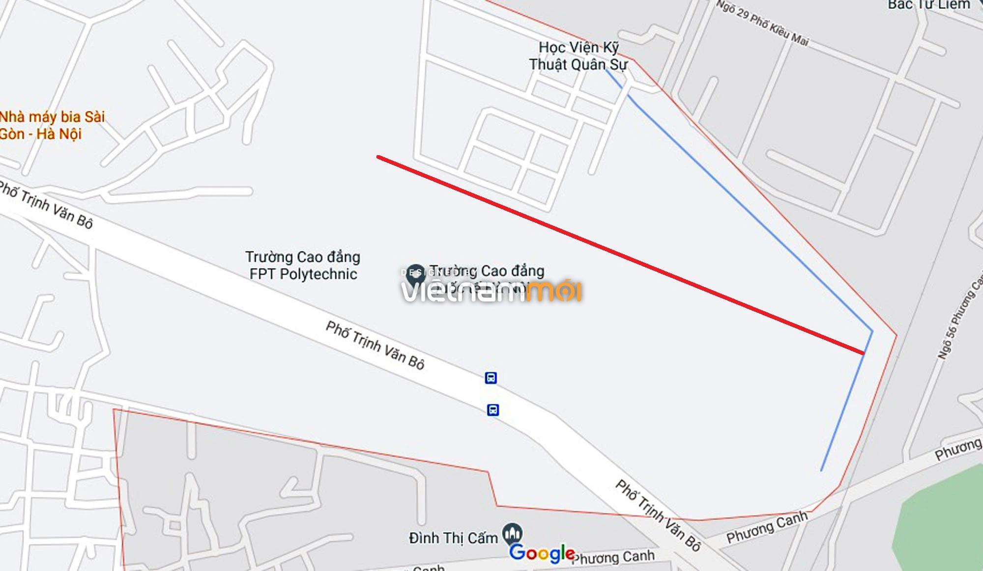 Đường sẽ mở theo quy hoạch ở phường Phương Canh, Nam Từ Liêm, Hà Nội (phần 2) - Ảnh 10.