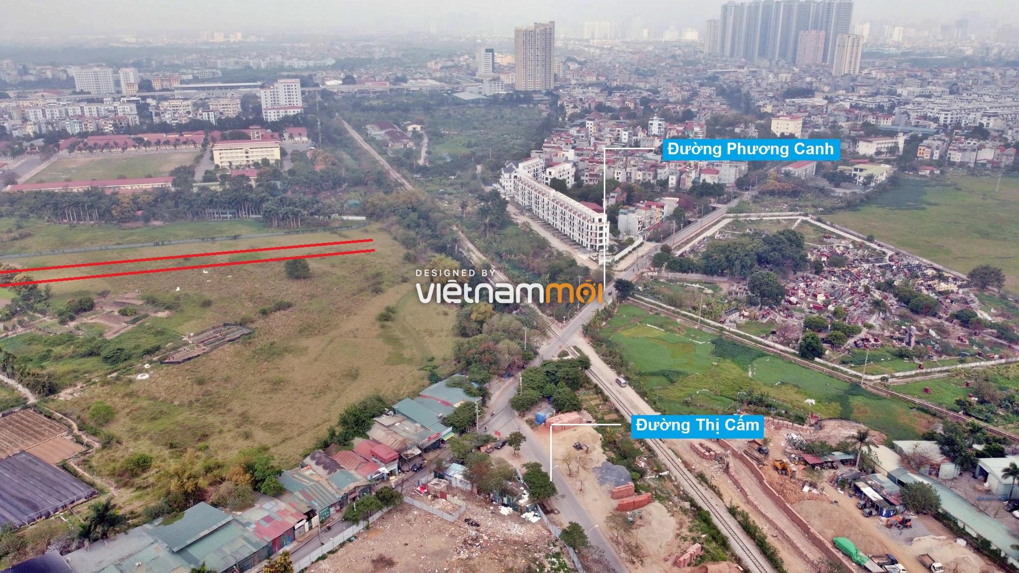 Đường sẽ mở theo quy hoạch ở phường Phương Canh, Nam Từ Liêm, Hà Nội (phần 2) - Ảnh 11.