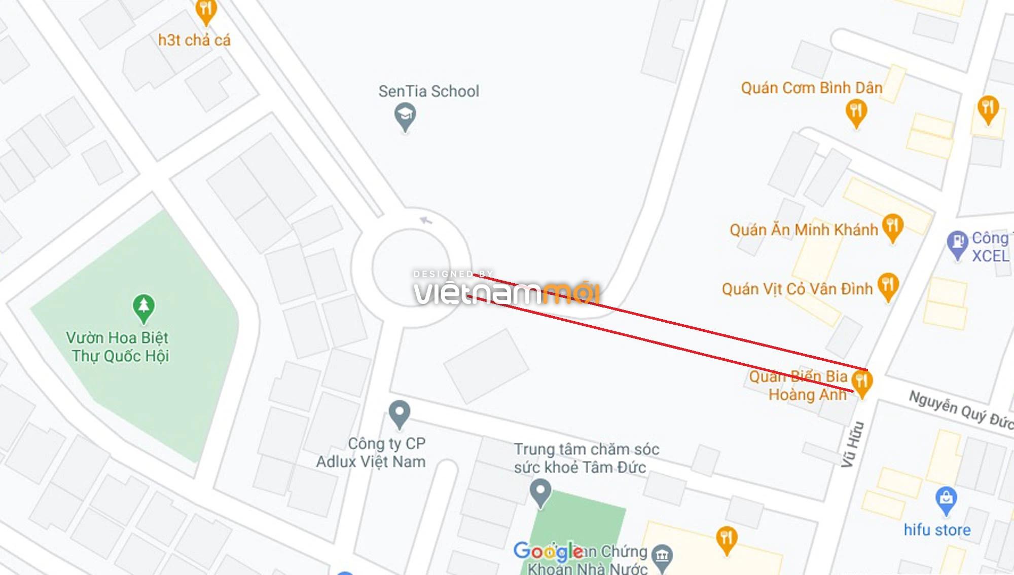 Đường sẽ mở theo quy hoạch ở phường Trung Văn, Nam Từ Liêm, Hà Nội (phần 2) - Ảnh 2.
