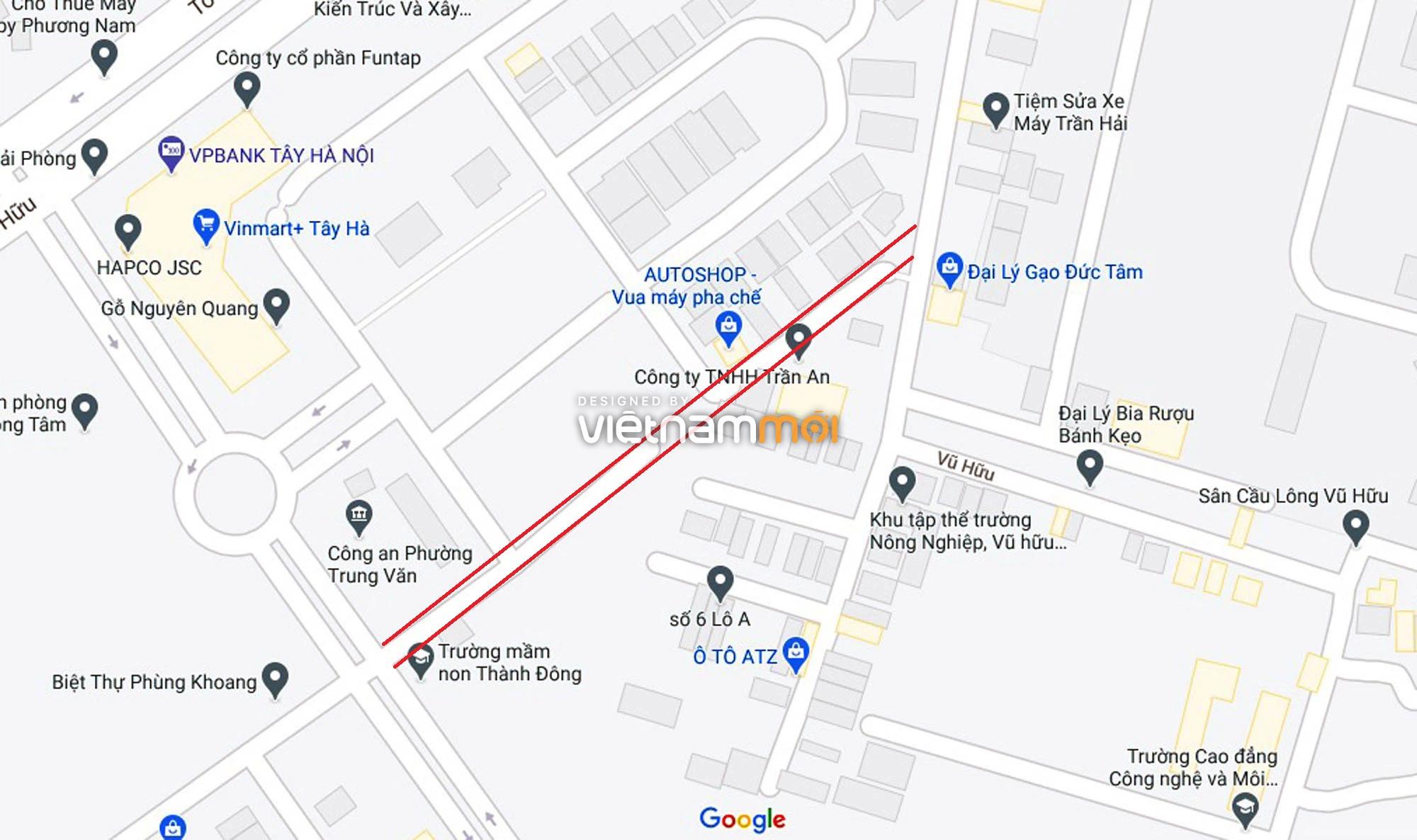 Đường sẽ mở theo quy hoạch ở phường Trung Văn, Nam Từ Liêm, Hà Nội (phần 2) - Ảnh 5.