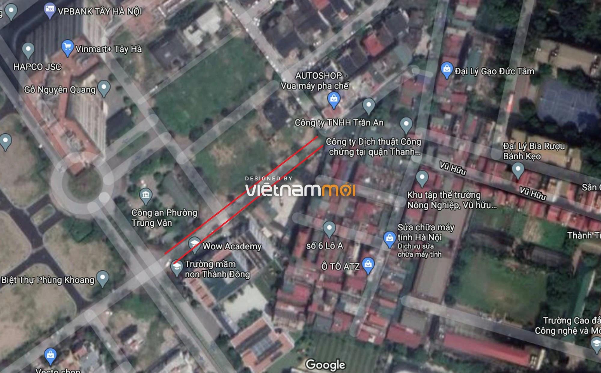 Đường sẽ mở theo quy hoạch ở phường Trung Văn, Nam Từ Liêm, Hà Nội (phần 2) - Ảnh 6.