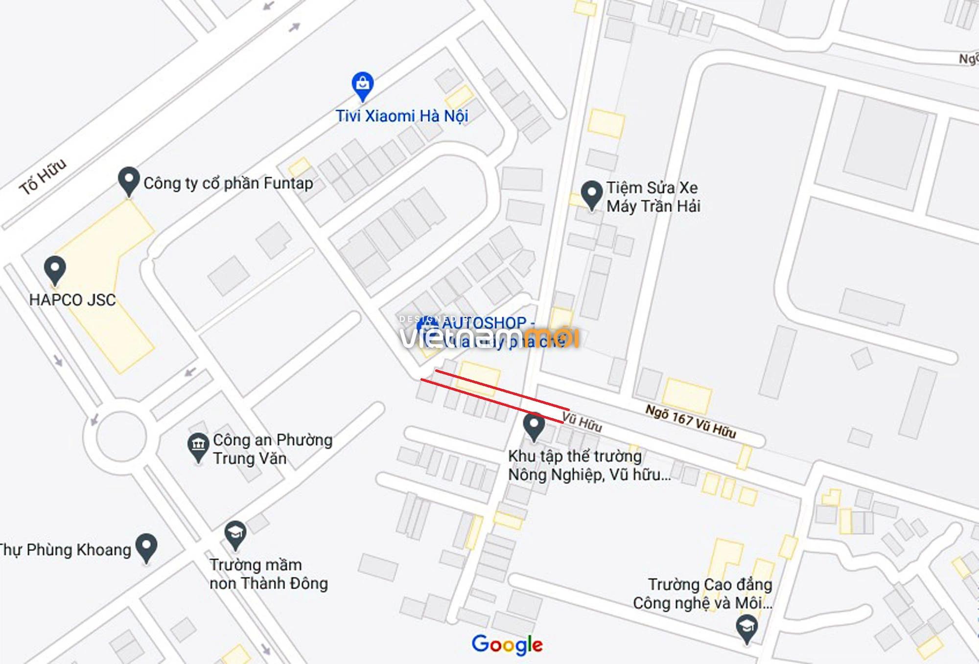 Đường sẽ mở theo quy hoạch ở phường Trung Văn, Nam Từ Liêm, Hà Nội (phần 2) - Ảnh 9.