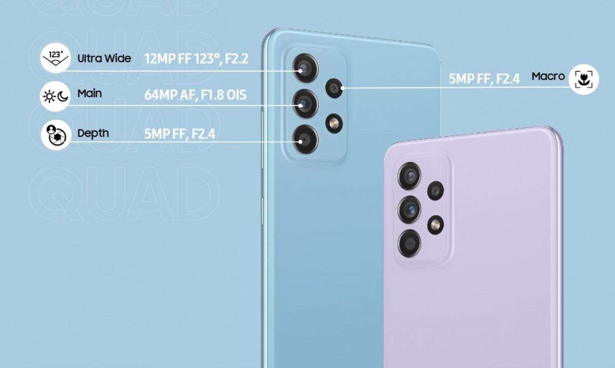 Samsung công bố Galaxy A52, Galaxy A52 5G và Galaxy A72   Việt Nam Mới