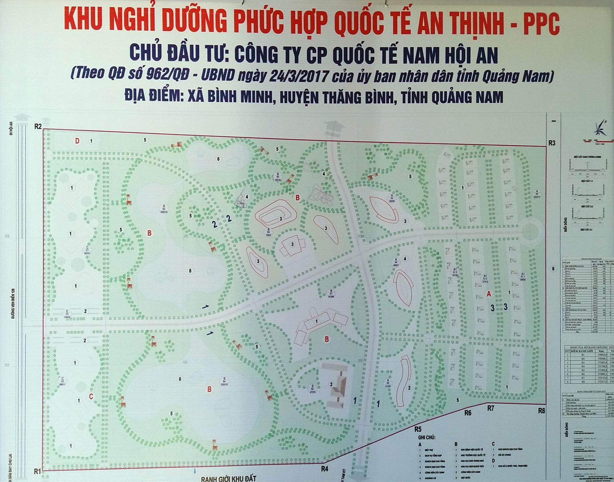 Quảng Nam khai tử dự án Khu phức hợp quốc tế An Thịnh - PPC 4.300 tỷ đồng để tìm nhà đầu tư mới - Ảnh 1.