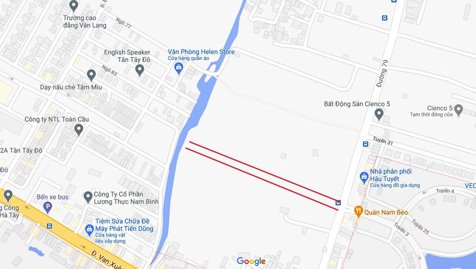 Đường sẽ mở theo quy hoạch ở xã Tân Lập, Đan Phượng, Hà Nội (phần 2) - Ảnh 2.