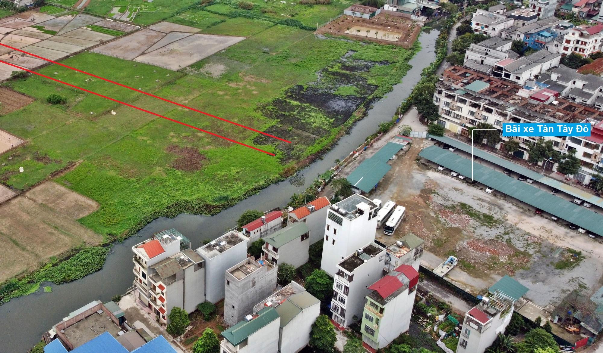 Đường sẽ mở theo quy hoạch ở xã Tân Lập, Đan Phượng, Hà Nội (phần 2) - Ảnh 4.