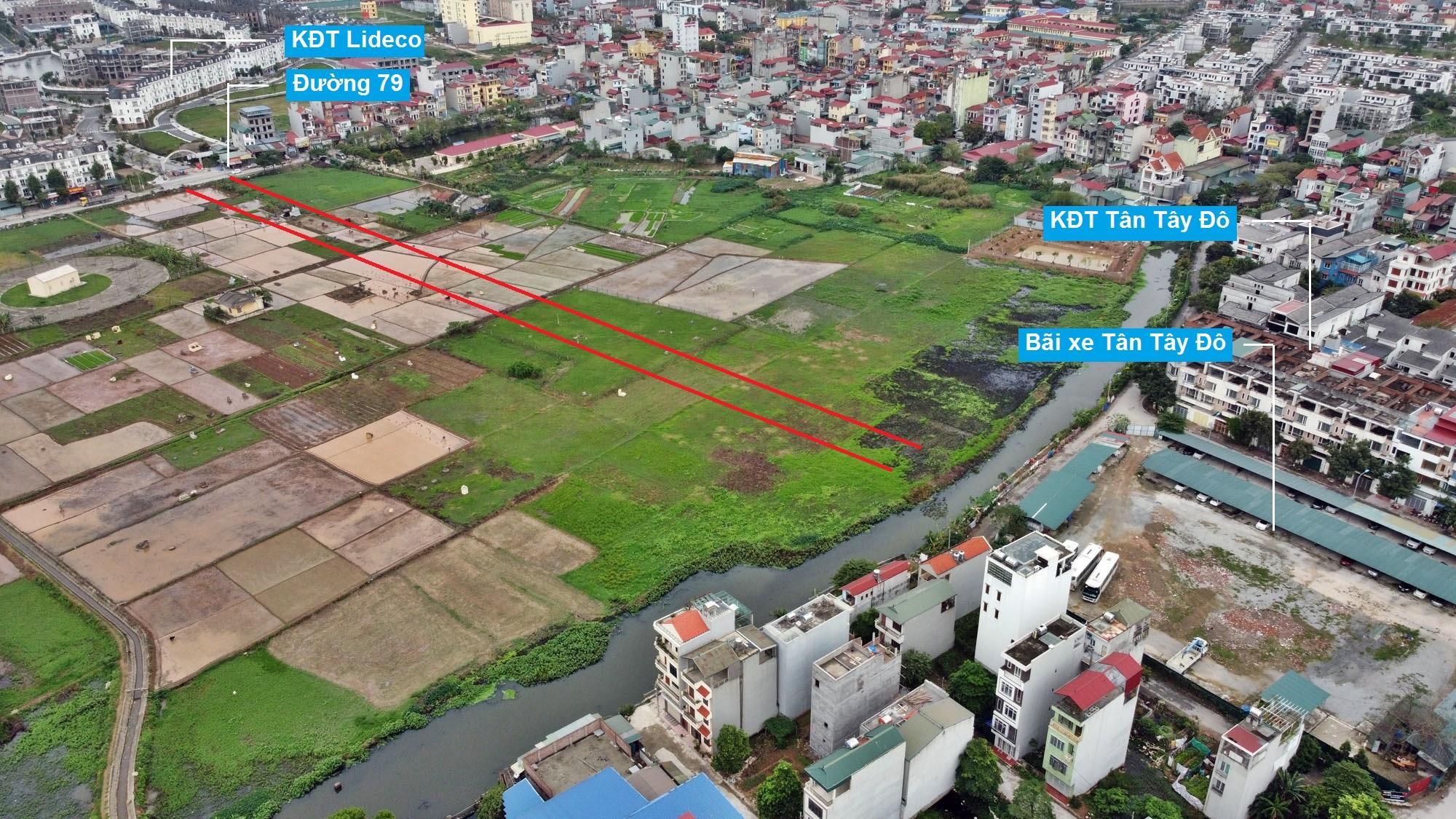 Đường sẽ mở theo quy hoạch ở xã Tân Lập, Đan Phượng, Hà Nội (phần 2) - Ảnh 5.