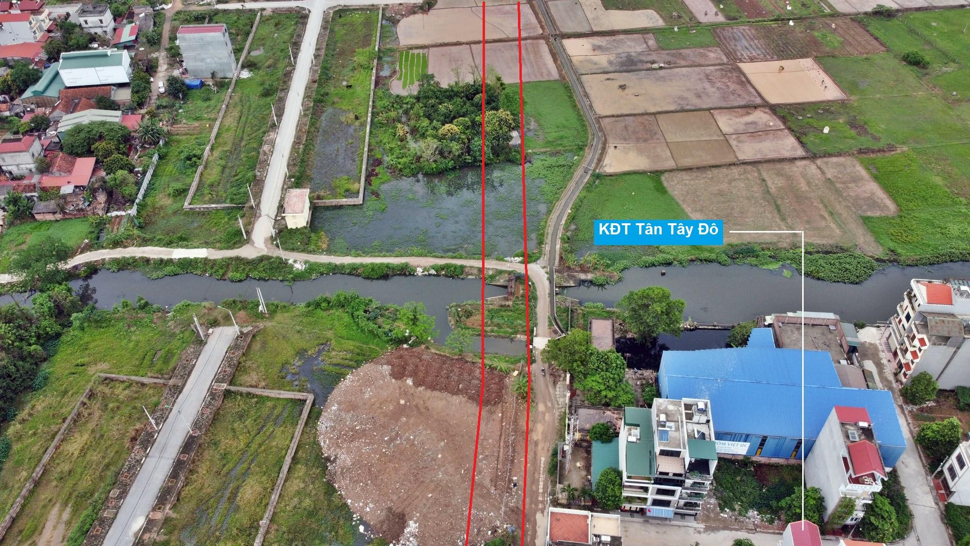 Đường sẽ mở theo quy hoạch ở xã Tân Lập, Đan Phượng, Hà Nội (phần 2) - Ảnh 8.