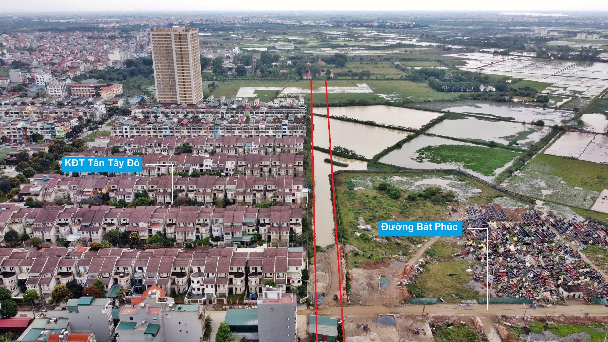 Đường sẽ mở theo quy hoạch ở xã Tân Lập, Đan Phượng, Hà Nội (phần 2) - Ảnh 9.