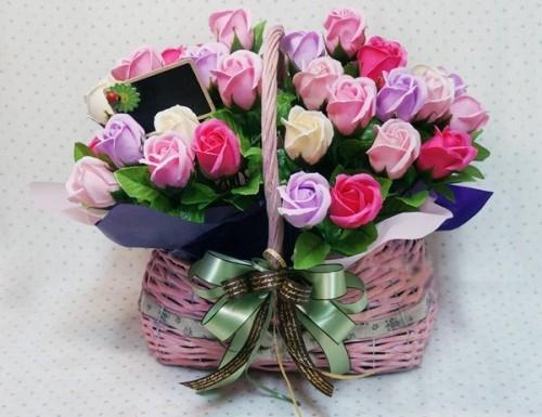 Gợi ý những cách cắm hoa ngày 8/3 đẹp và ấn tượng dành tặng chị em phụ nữ - Ảnh 13.