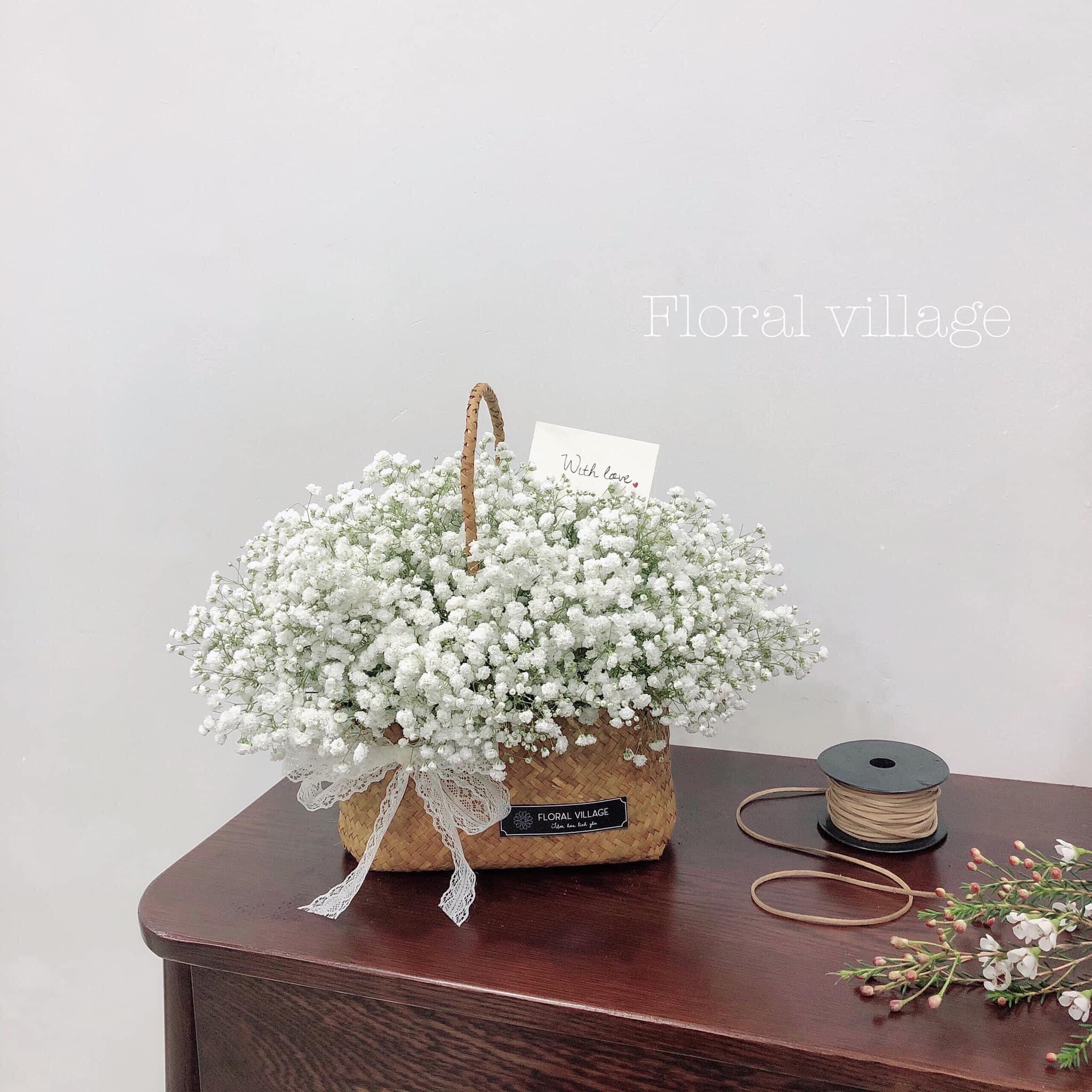 Tham khảo các mẫu lẵng hoa đẹp ngày 8/3 dành tặng phái nữ  - Ảnh 3.