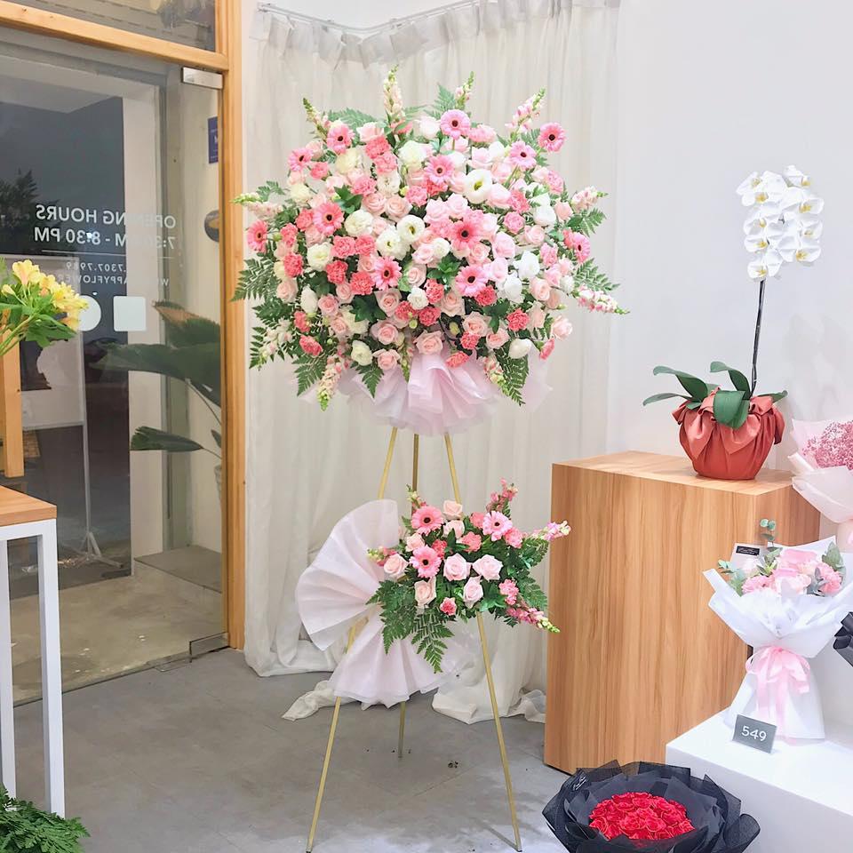 Tham khảo các mẫu lẵng hoa đẹp ngày 8/3 dành tặng phái nữ  - Ảnh 17.