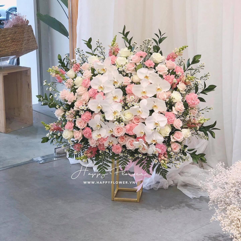 Tham khảo các mẫu lẵng hoa đẹp ngày 8/3 dành tặng phái nữ  - Ảnh 11.