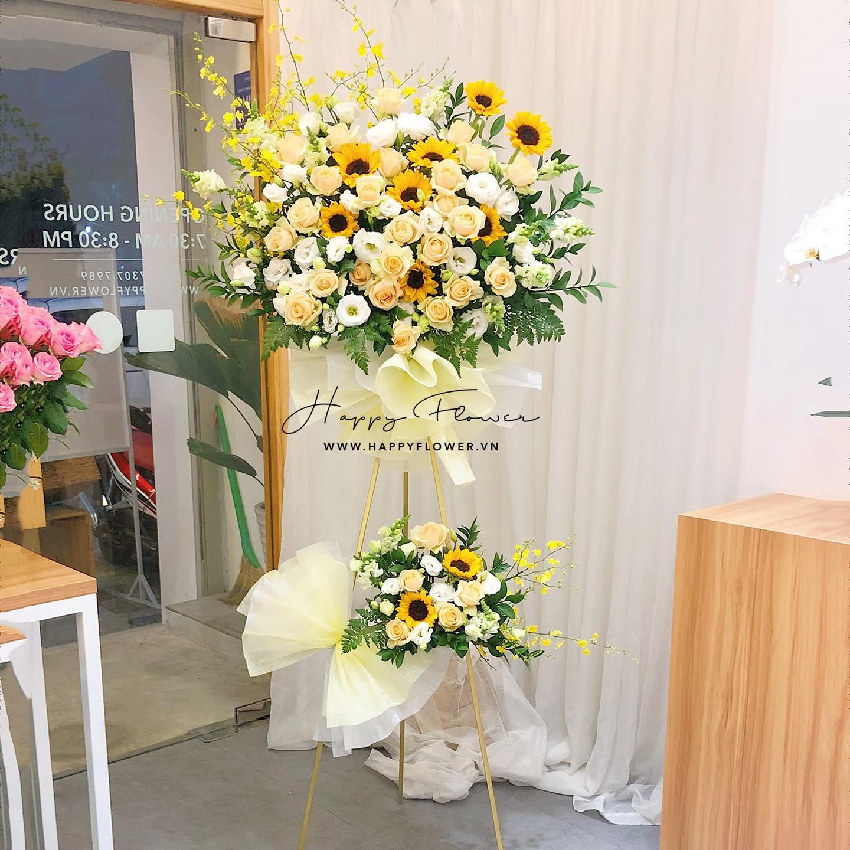 Tham khảo các mẫu lẵng hoa đẹp ngày 8/3 dành tặng phái nữ  - Ảnh 16.