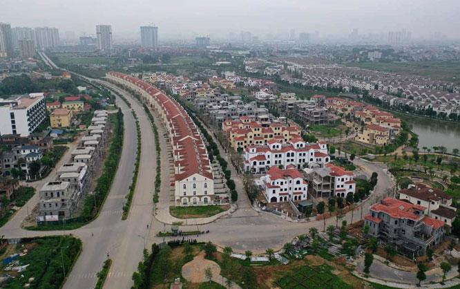 Tiến độ lên quận của 5 huyện Hà Nội - Ảnh 1.