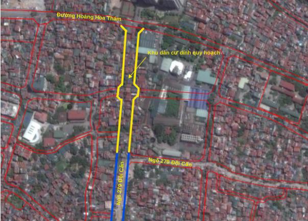 Đường sắp mở theo quy hoạch ở phường Liễu Giai, Ba Đình, Hà Nội: Đường Vạn Phúc - Hoàng Hoa Thám - Ảnh 12.