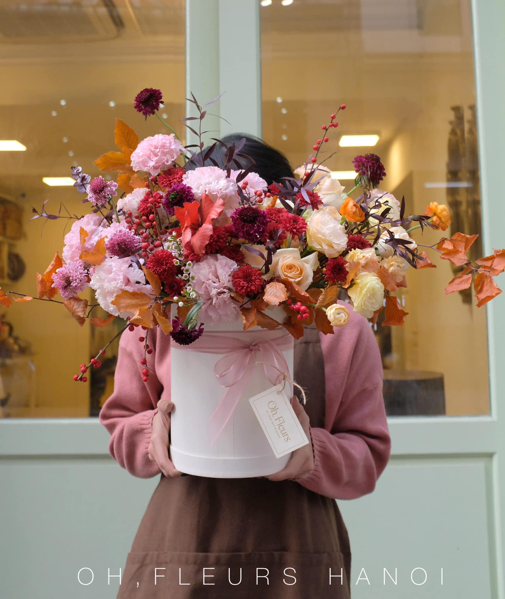 Tham khảo các mẫu lẵng hoa đẹp ngày 8/3 dành tặng phái nữ  - Ảnh 6.