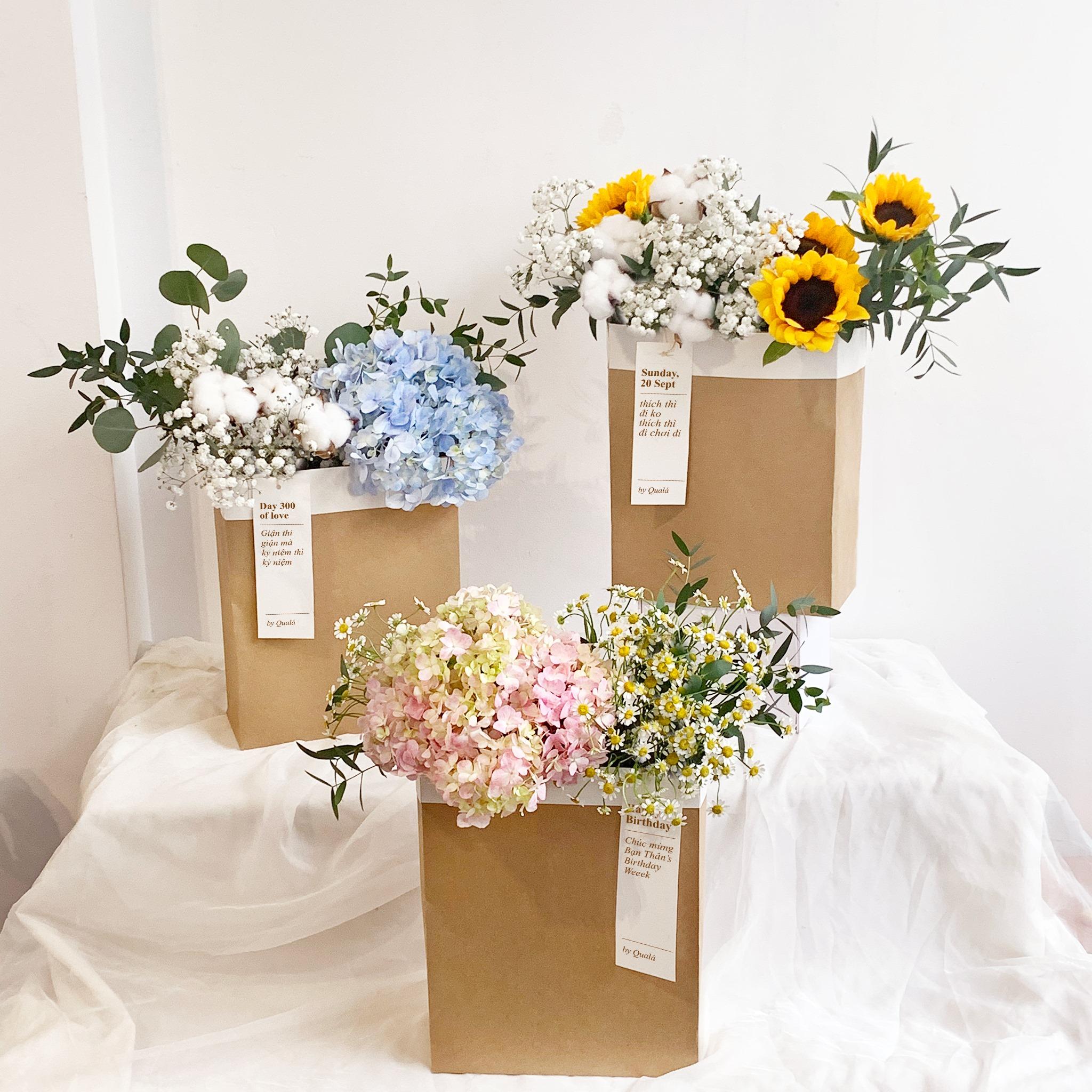 Tham khảo các mẫu lẵng hoa đẹp ngày 8/3 dành tặng phái nữ  - Ảnh 13.