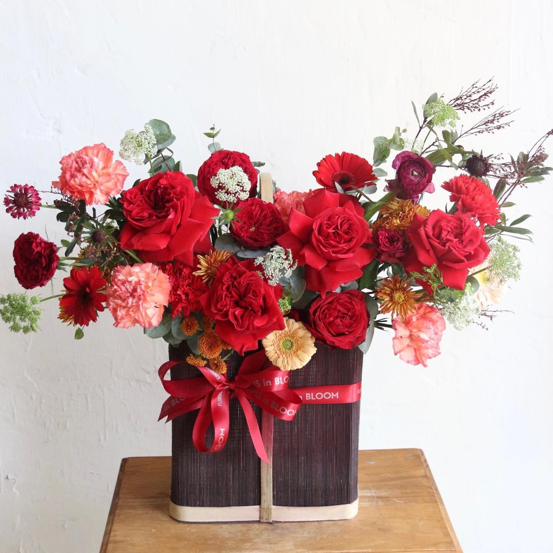 Tham khảo các mẫu lẵng hoa đẹp ngày 8/3 dành tặng phái nữ  - Ảnh 8.