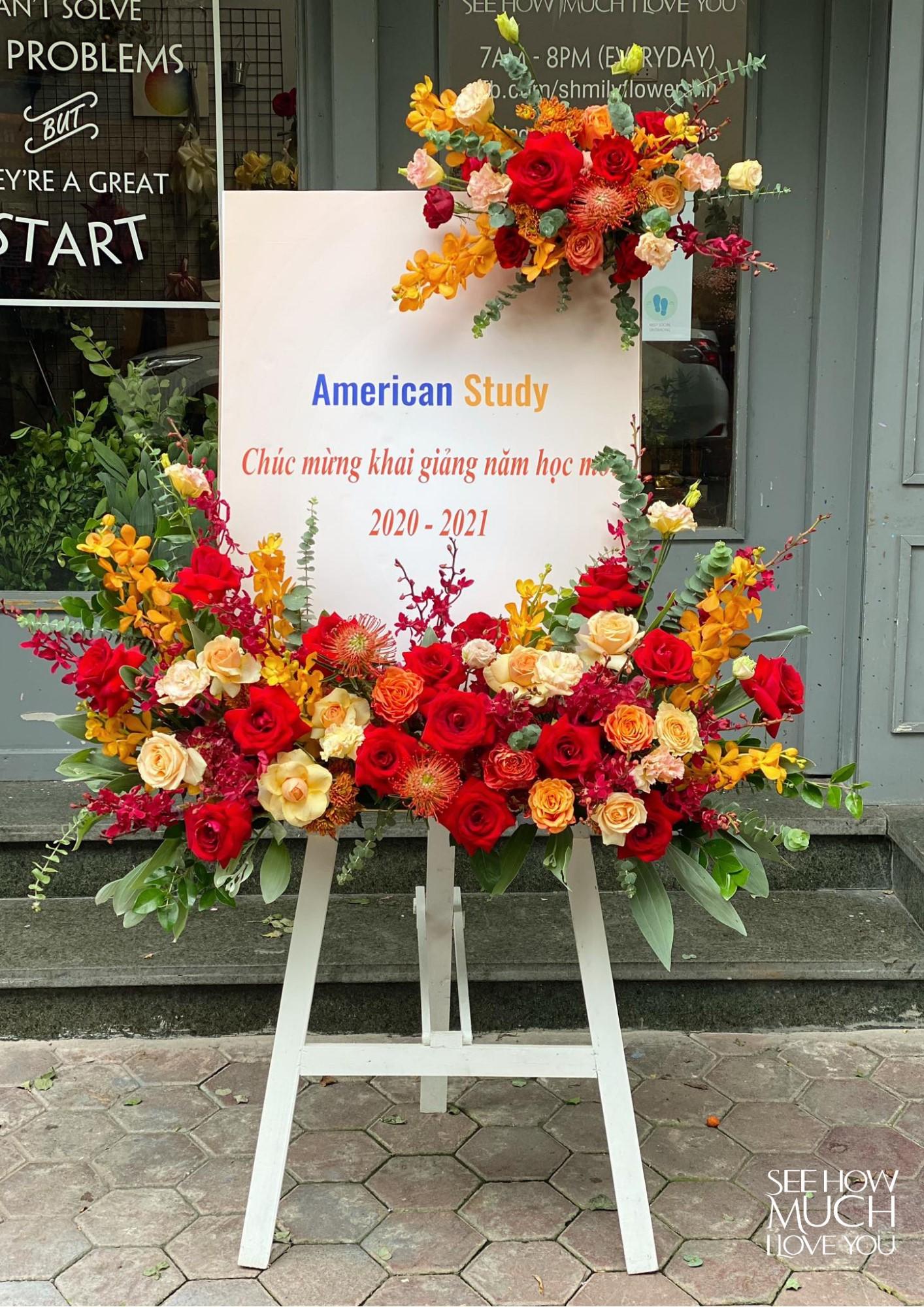Tham khảo các mẫu lẵng hoa đẹp ngày 8/3 dành tặng phái nữ  - Ảnh 19.