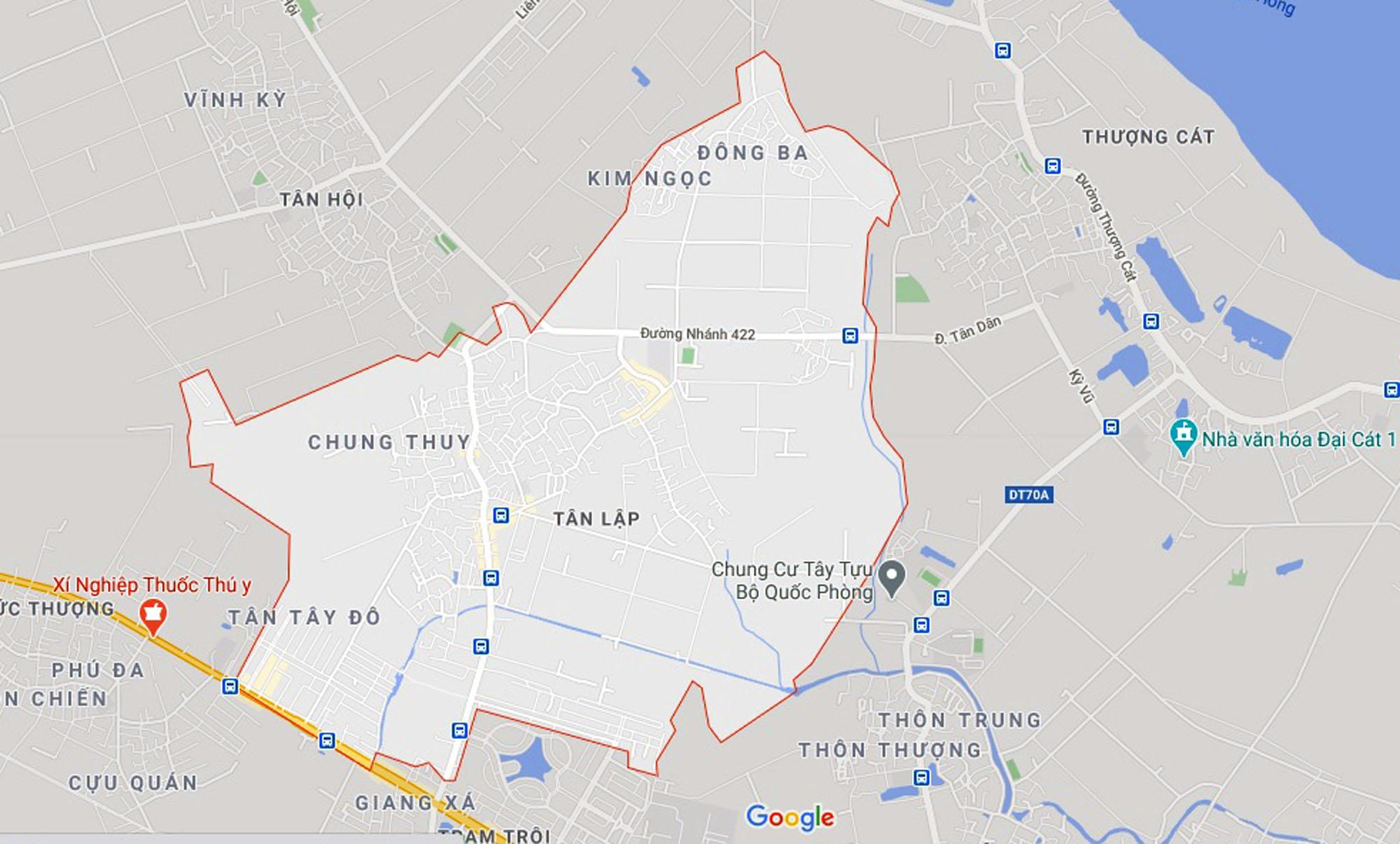 Đường sẽ mở theo quy hoạch ở xã Tân Lập, Đan Phượng, Hà Nội (phần 2) - Ảnh 1.