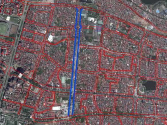 Đường sắp mở theo quy hoạch ở phường Liễu Giai, Ba Đình, Hà Nội: Đường Vạn Phúc - Hoàng Hoa Thám - Ảnh 2.