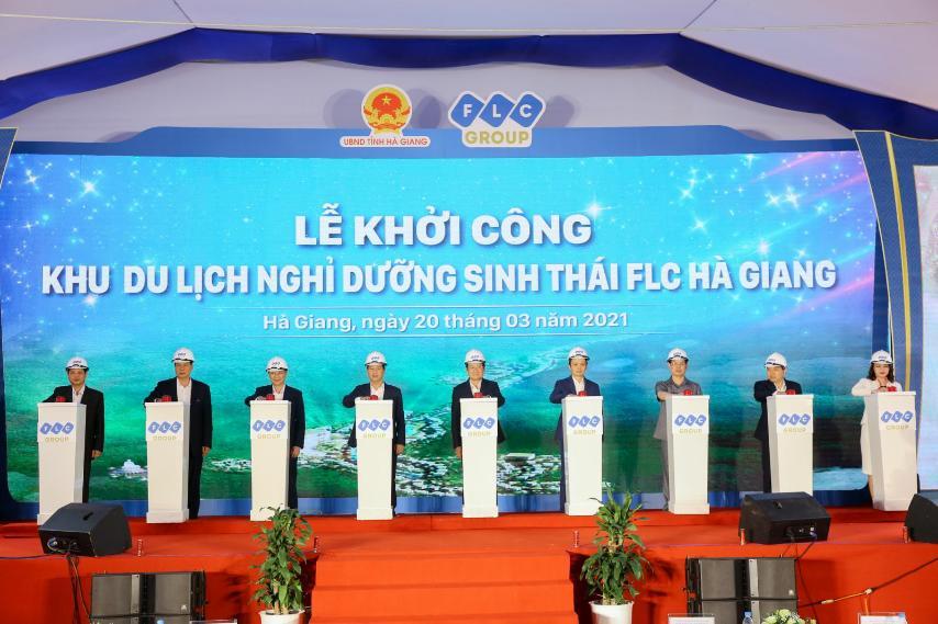 FLC khởi công khu du lịch nghỉ dưỡng sinh thái cao cấp tại Hà Giang - Ảnh 1.