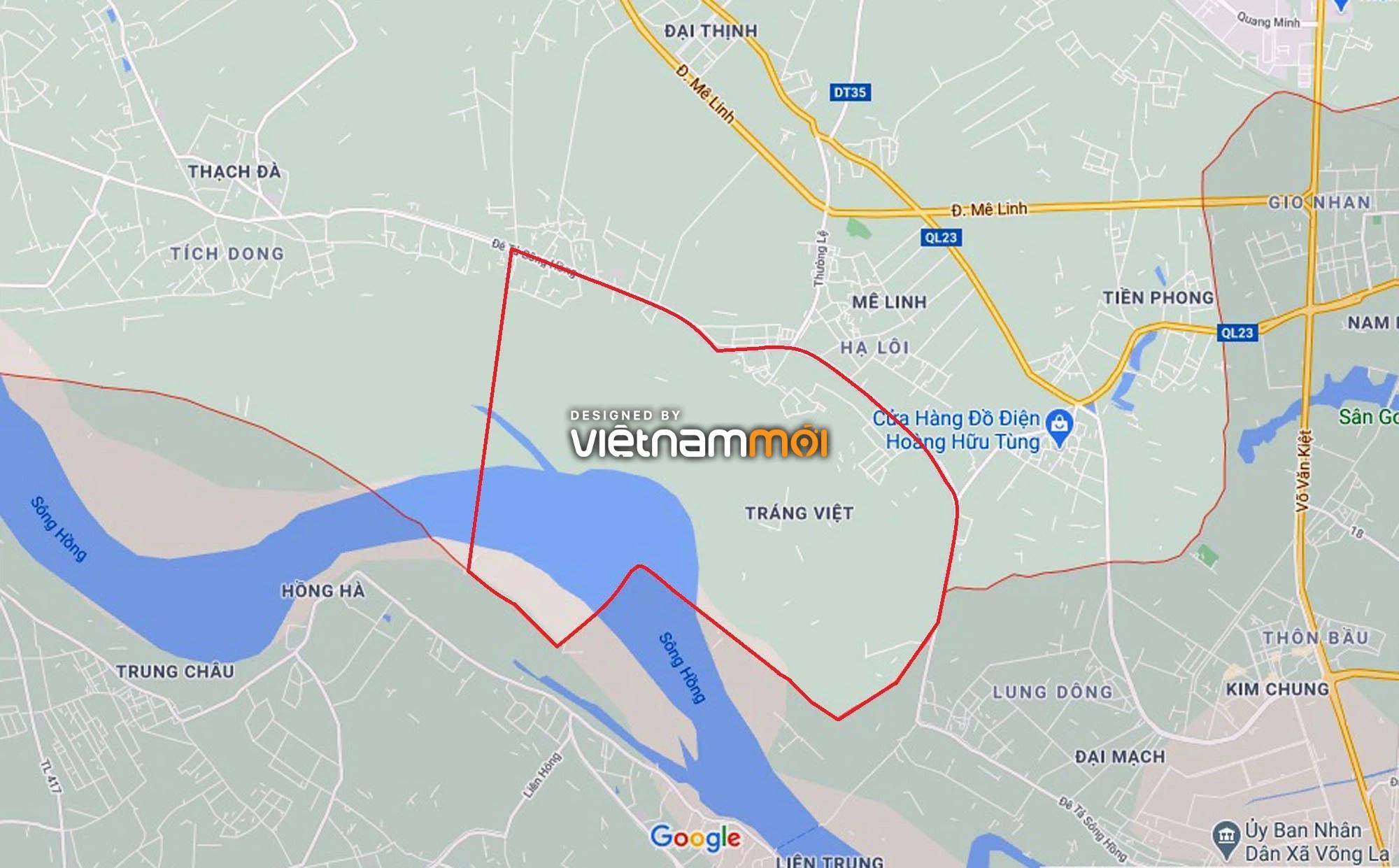 Toàn cảnh hiện trạng Phân khu đô thị sông Hồng trên địa bàn huyện Mê Linh - Ảnh 1.