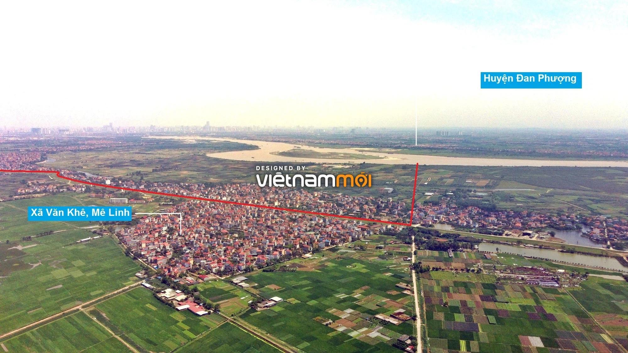 Toàn cảnh hiện trạng Phân khu đô thị sông Hồng trên địa bàn huyện Mê Linh - Ảnh 2.