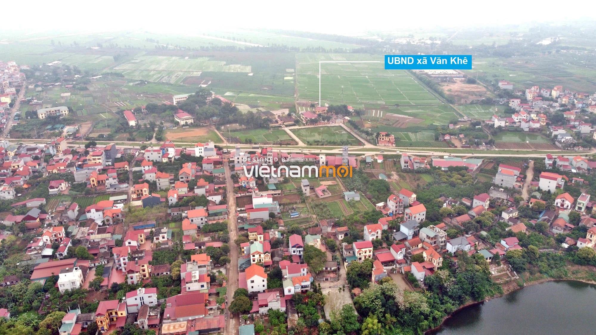 Toàn cảnh hiện trạng Phân khu đô thị sông Hồng trên địa bàn huyện Mê Linh - Ảnh 4.