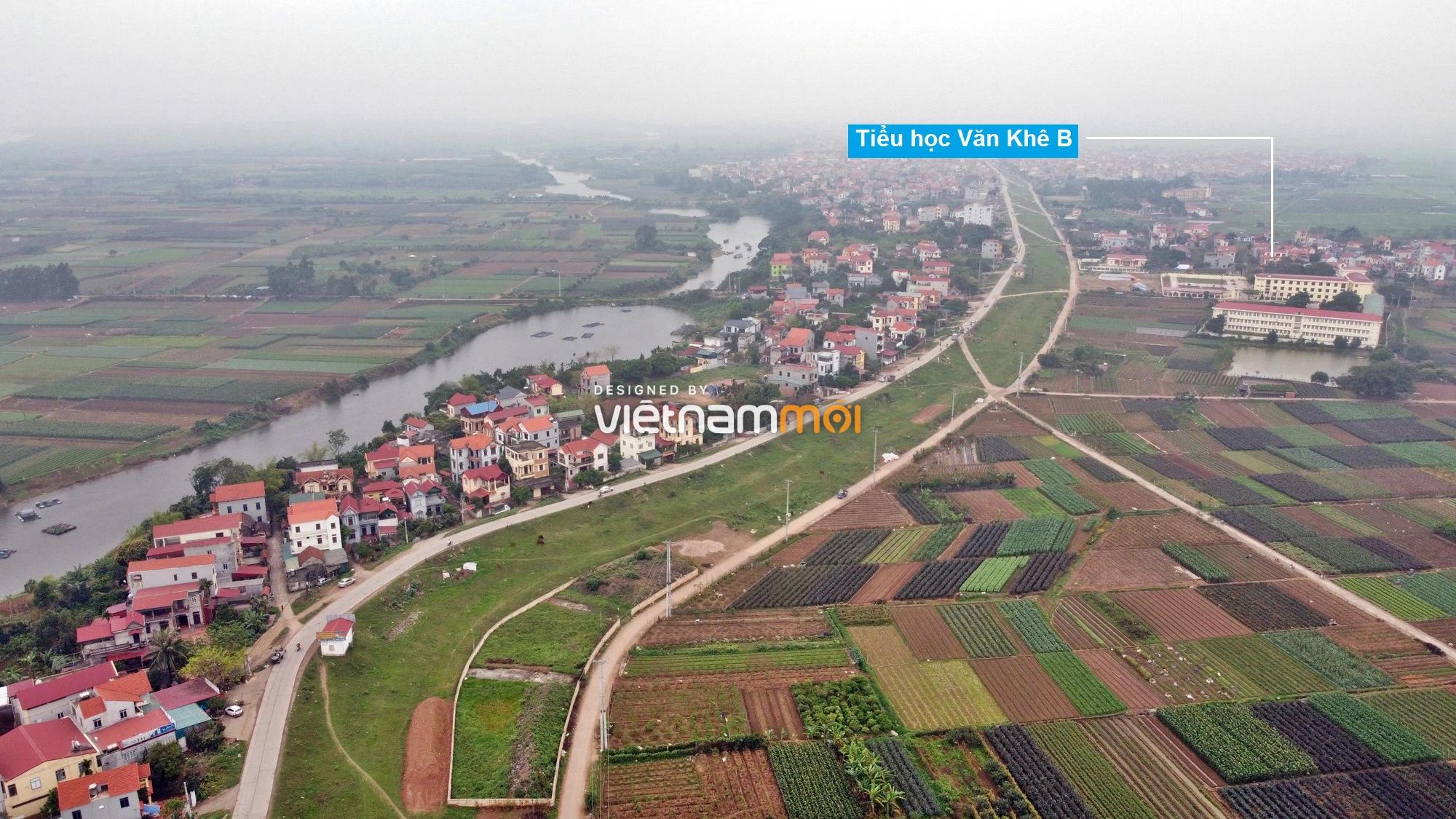 Toàn cảnh hiện trạng Phân khu đô thị sông Hồng trên địa bàn huyện Mê Linh - Ảnh 6.