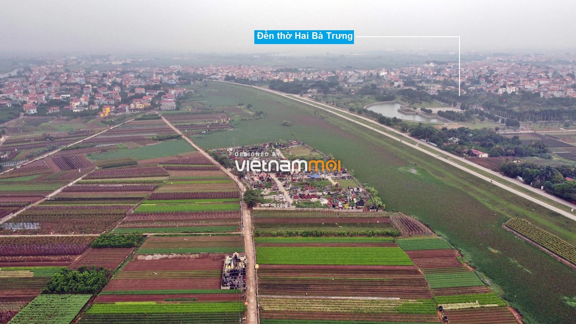 Toàn cảnh hiện trạng Phân khu đô thị sông Hồng trên địa bàn huyện Mê Linh - Ảnh 9.