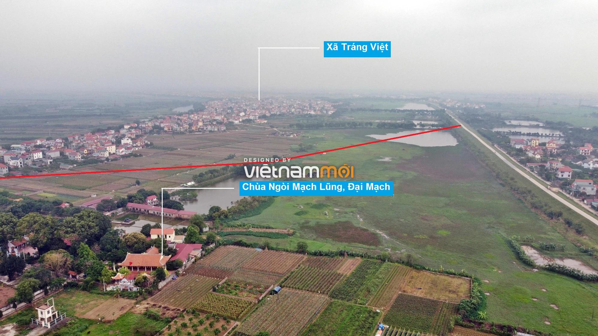Toàn cảnh hiện trạng Phân khu đô thị sông Hồng trên địa bàn huyện Mê Linh - Ảnh 15.