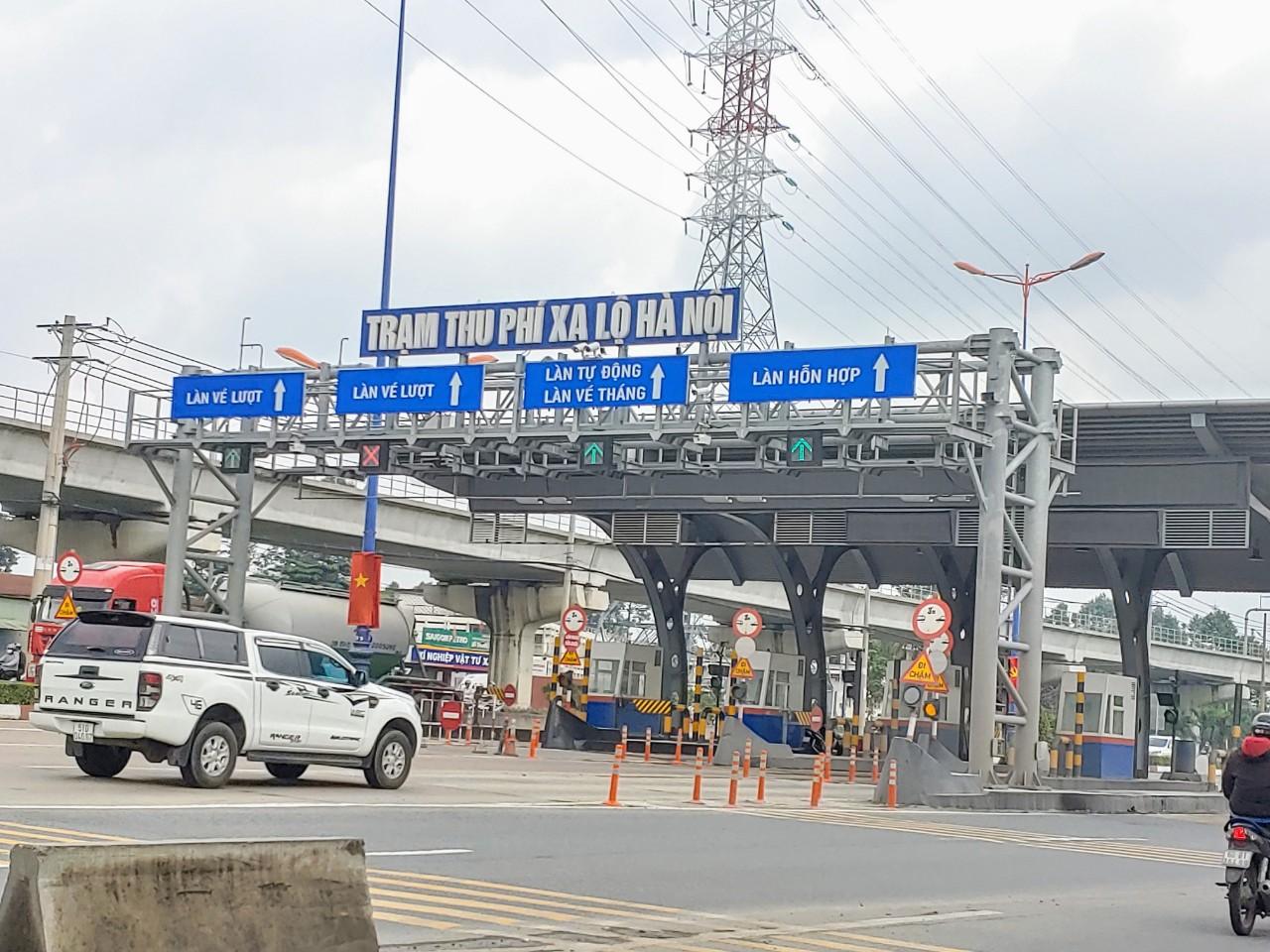 CII chính thức được thu phí BOT Xa lộ Hà Nội từ ngày 1/4 - Ảnh 1.