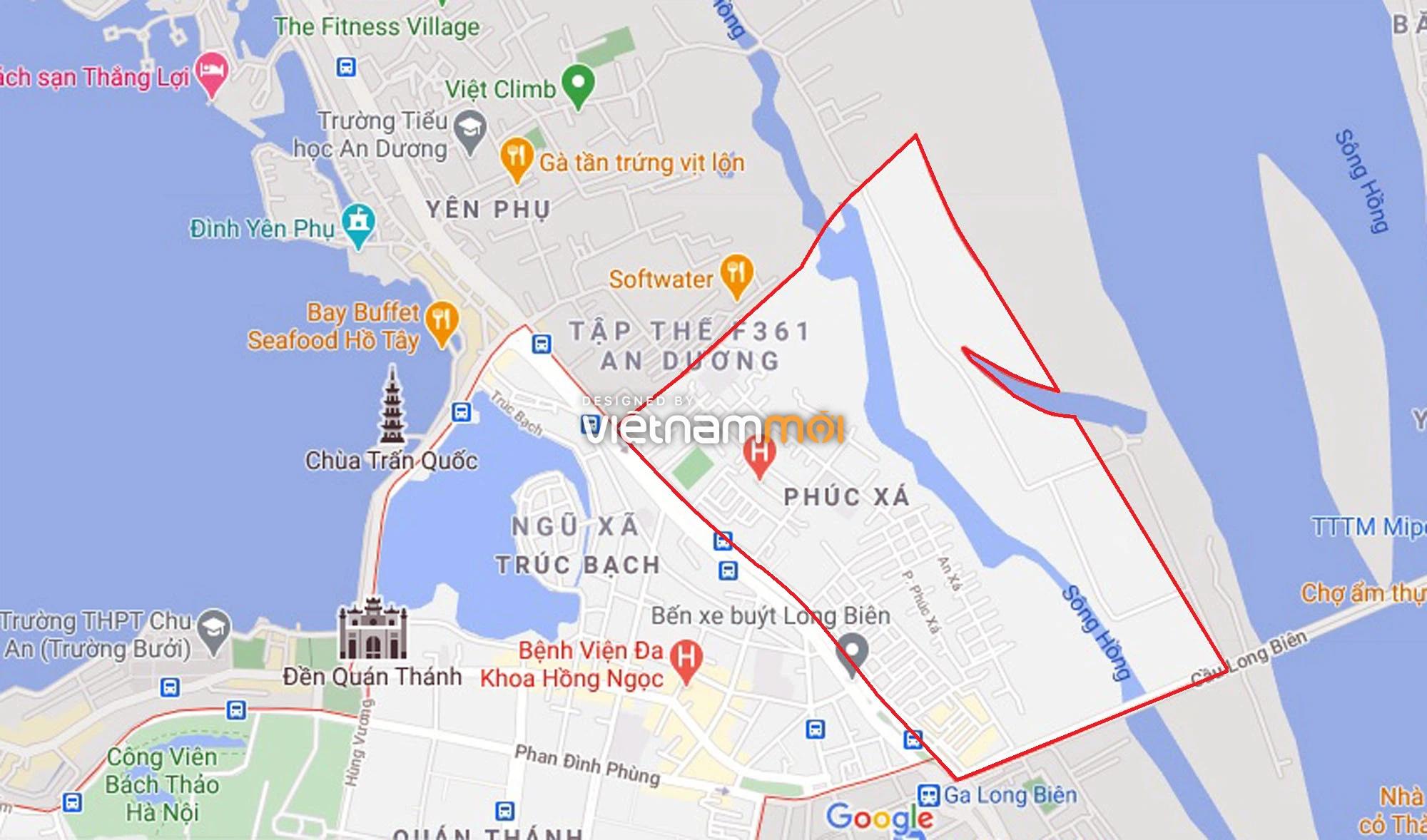Toàn cảnh hiện trạng Phân khu đô thị sông Hồng trên địa bàn quận Ba Đình - Ảnh 1.
