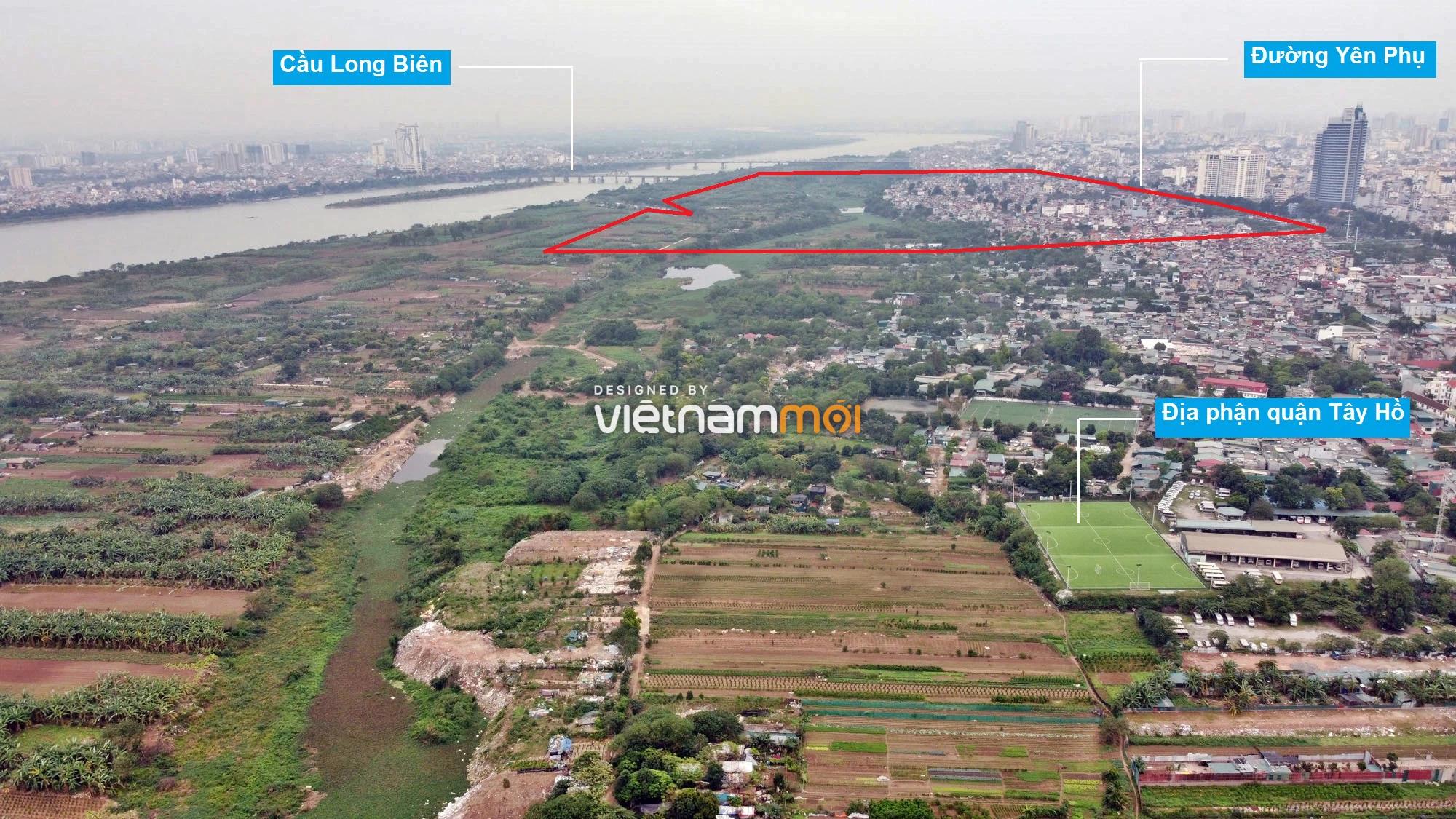Toàn cảnh hiện trạng Phân khu đô thị sông Hồng trên địa bàn quận Ba Đình - Ảnh 2.