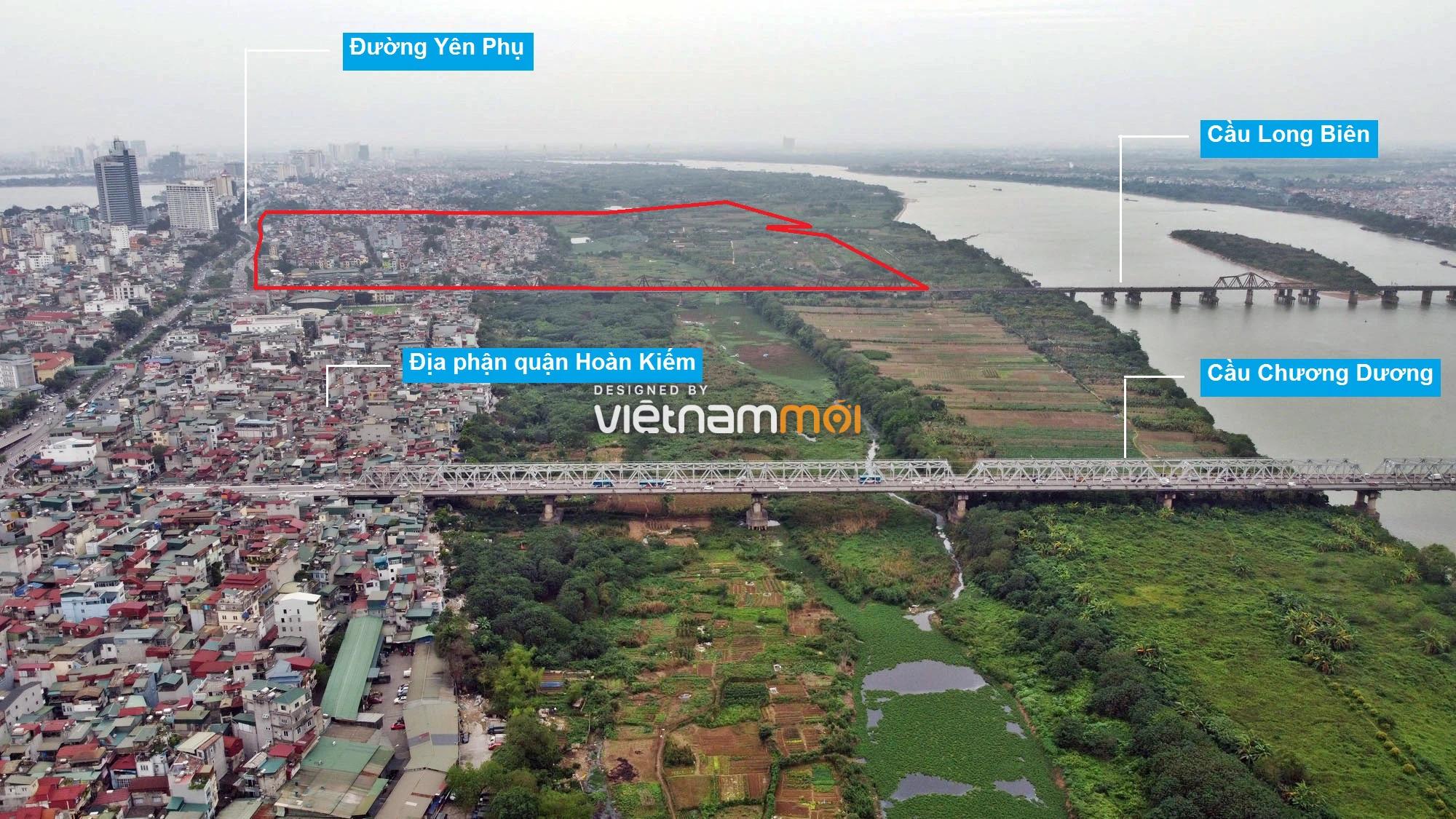 Toàn cảnh hiện trạng Phân khu đô thị sông Hồng trên địa bàn quận Ba Đình - Ảnh 3.