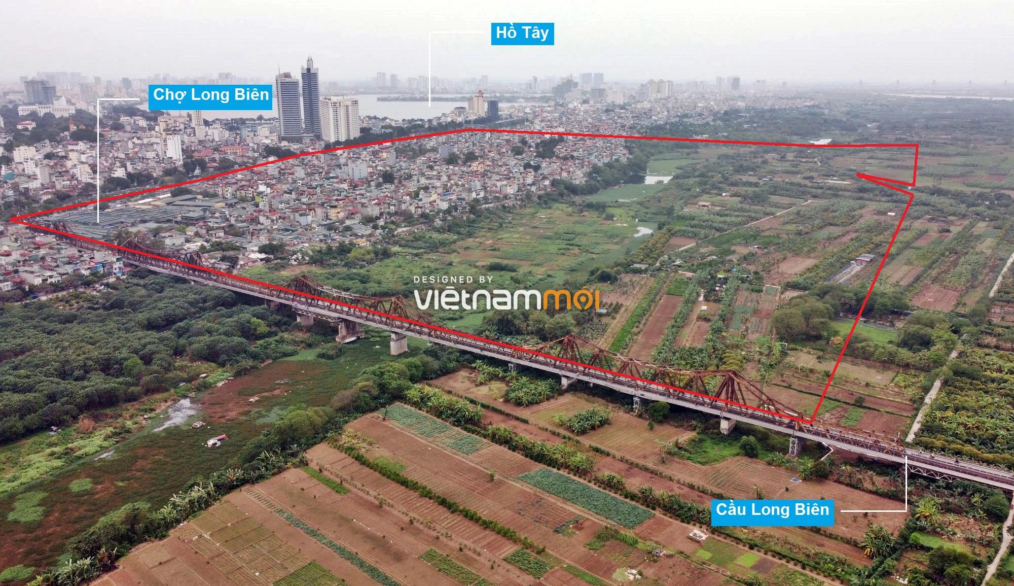 Toàn cảnh hiện trạng Phân khu đô thị sông Hồng trên địa bàn quận Ba Đình - Ảnh 4.